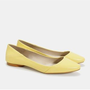 Zara Womens Size 6 Slip On Flat Ballet Shoes NEW